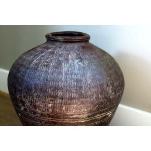 Oude olijvenpot