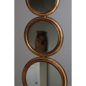 Spiegel met 5 cirkels