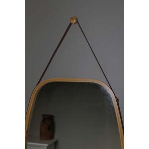 Bamboe spiegel groot