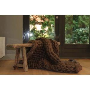 Plaid Merino wol