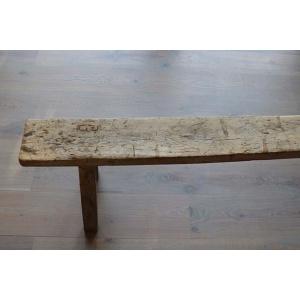 Gaaf houten bankje