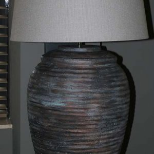 kruiklamp licht koper roest XL