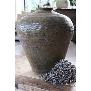 Grote stenen gemberpot