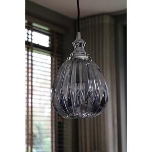 Hanglamp met gerookt glas
