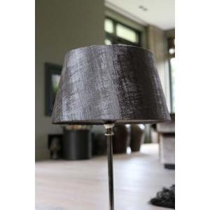 Fluweel grijze lampenkap