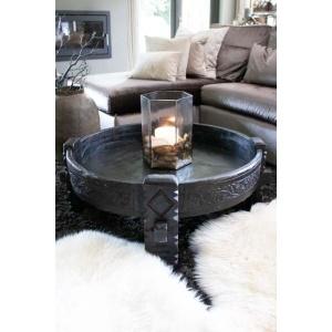 Maalsteen tafel zwart